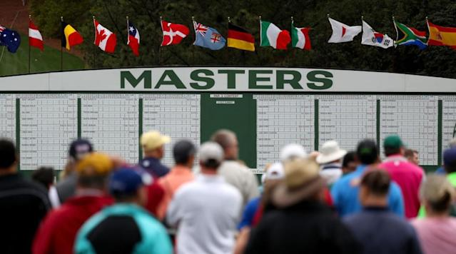 AUGUSTA, Ga. -- Storm squalls shortened the first day of practice, but Masters Monday was hardly a bust.