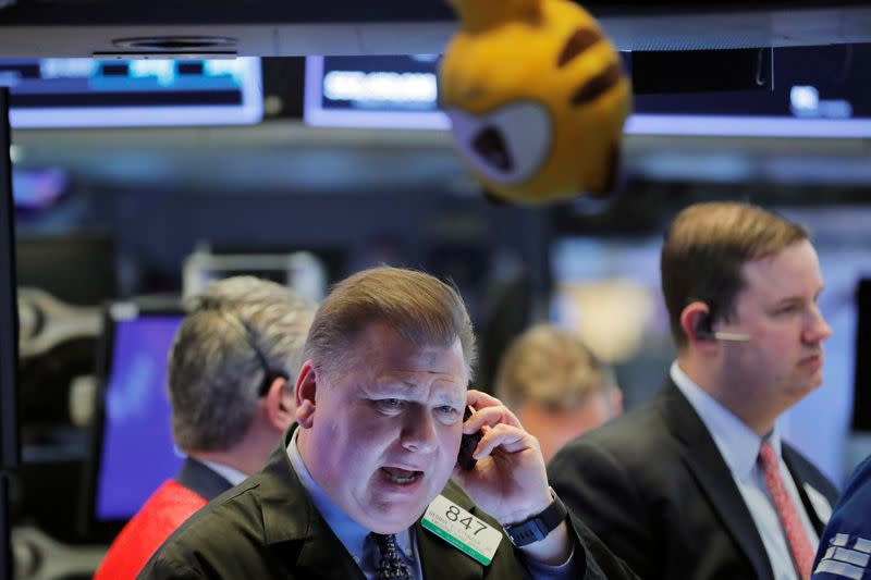 United States stocks shed 1000 points in biggest sell-off since Lehman shock