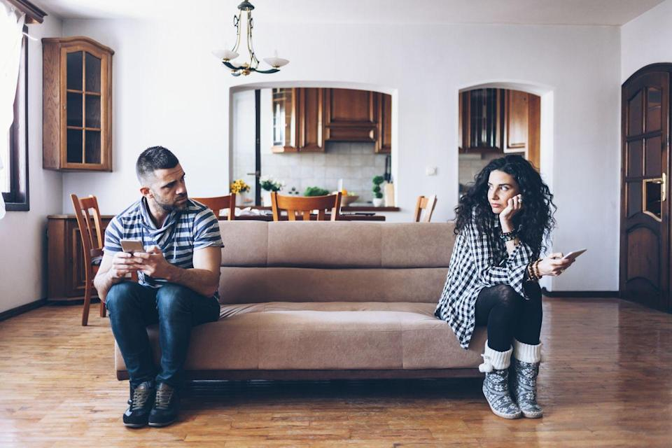 "<p>Speaking of communication, it's key. Growing apart and not being able to talk are the two most common reasons nearly 500 couples gave when asked, 'why are you asking for a divorce?'</p><p>'The chief culprit in divorce is a lack of communication. Your spouse can't read your mind, and you shouldn't try to read theirs. Talk about things you may not want to talk about. Talk about bills. Talk about feelings — happy and sad. Be intentional with your spouse in saying, ""This is important to me,"" or ""This is not important to me."" Don't assume your spouse knows what you think. Tell them,' says Graser Smith.</p><p>When you're planning to tread on tough territory, take note of when, where, and how both partners may be most open to challenging conversations, suggests Dr. Racine R. Henry, LMFT, a licensed marriage and family therapist and the founder of <a href=""http://sankofatherapynyc.com"" rel=""nofollow noopener"" target=""_blank"" data-ylk=""slk:Sankofa Marriage and Family Therapy, PLLC"" class=""link rapid-noclick-resp"">Sankofa Marriage and Family Therapy, PLLC</a> in New York City. 'Saying things like ""I feel this way,"" ""my feelings were hurt,"" and ""I love you, but when you say that it way makes me feel sad"" are all ways to not be aggressive and confrontational,' Ziegler Payne says.</p>"