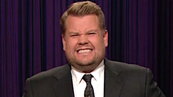 James Corden Is 'Disappointed' In Himself For Kissing Sean Spicer