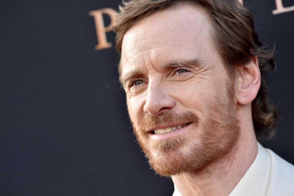 """HOLLYWOOD, CALIFORNIA - JUNE 04: Michael Fassbender attends the premiere of 20th Century Fox's """"Dark Phoenix"""" at TCL Chinese Theatre on June 04, 2019 in Hollywood, California. (Photo by Axelle/Bauer-Griffin/FilmMagic)"""