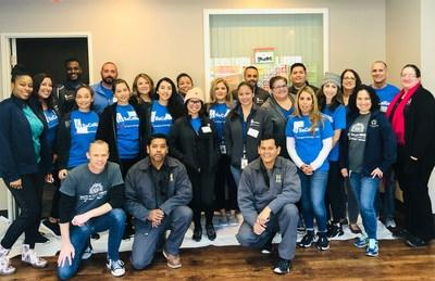 Hope through Housing Foundation's Community Center in Rancho Cucamonga Gets a Makeover with the Help of SoCalGas Employees