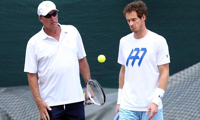 "<span class=""element-image__caption"">Andy Murray, right, and Ivan Lendl have won three grand slam titles together.</span> <span class=""element-image__credit"">Photograph: Steven Paston/PA</span>"