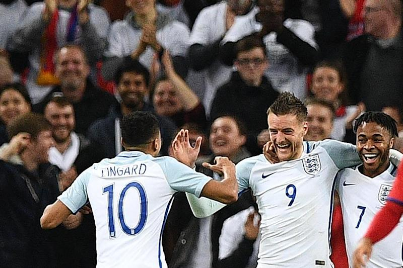 Vardy calls on England to learn from Foxes: Justin Tallis/AFP/Getty Images
