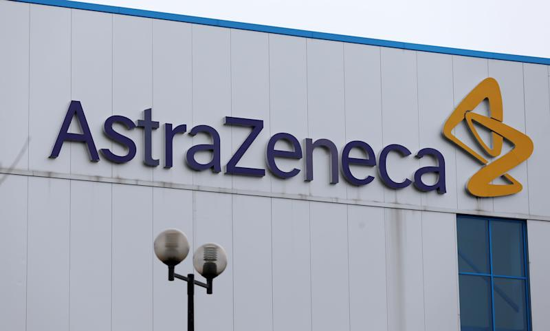 General view of the entrance to AstraZeneca's in Macclesfield after the pharmaceuticals giant is to cut 700 jobs in the UK over the next three years and relocate up to 300 other posts abroad under plans announced today. The firm said it will also invest 330 million in a new research and development centre and global headquarters in Cambridge. (Photo by Lynne Cameron/PA Images via Getty Images)