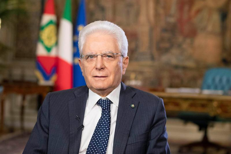 epa08438675 A handout photo made available by the Quirnale Press Office shows Italian President Sergio Mattarella during a speech to the students involved in the 'The ship of legality' project, for the 28th anniversary of the Capaci massacre, at Quirinale in Rome, Italy, 23 May 2020. The Capaci massacre was a bombing orchastrated by the Sicilian Mafia, which killed judge Giovanni Falcone and four other people on 23 May 1992. EPA/QUIRINALE PRESS OFFICE / HANDOUT HANDOUT EDITORIAL USE ONLY/NO SALES (Photo: EPA)