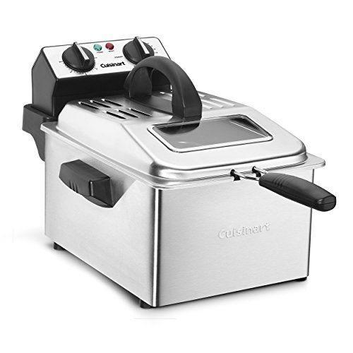 """<p><strong>Cuisinart</strong></p><p>amazon.com</p><p><strong>$89.77</strong></p><p><a href=""""https://www.amazon.com/dp/B01JCECNM2?tag=syn-yahoo-20&ascsubtag=%5Bartid%7C1782.g.34057925%5Bsrc%7Cyahoo-us"""" rel=""""nofollow noopener"""" target=""""_blank"""" data-ylk=""""slk:BUY NOW"""" class=""""link rapid-noclick-resp"""">BUY NOW</a></p><p>Craving a batch of homemade fries or chicken tenders? Cuisinart's deep fryer makes it possible to get that crispy, tasty goodness at home. </p>"""