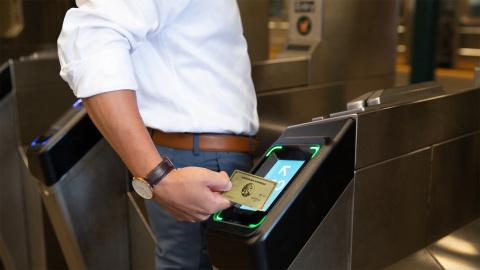 American Express Says to NYC Subway Riders: Don't Tap and Pay Without It