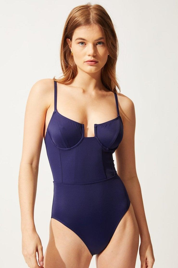 <p>We love how sexy this structured <span>Solid &amp; Striped The Veronica</span> ($158) is.</p>