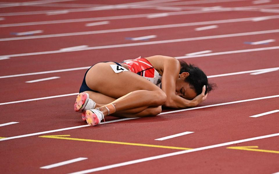 Tokyo 2020 Olympics: 'Her heart has been trashed on the track': Katarina Johnson-Thompson pulls out of Olympics with injury - REUTERS