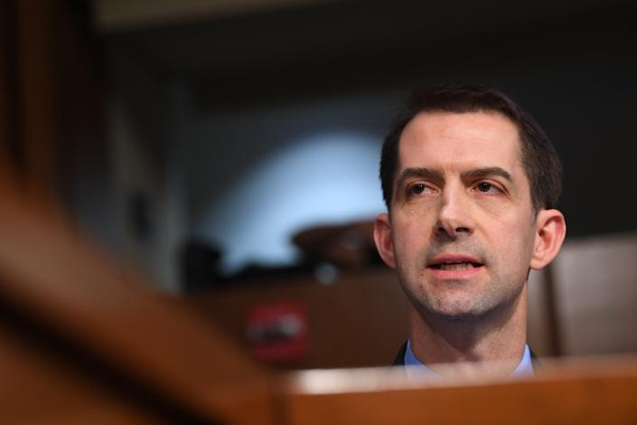 Sen. Tom Cotton, R-Ark.