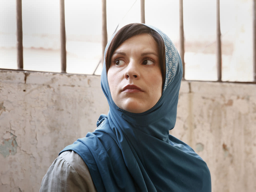 "Claire Danes as Carrie Mathison in the ""Homeland"" Season 2 episode, ""Beirut is Back."""