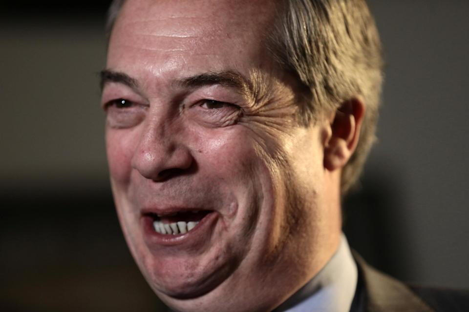 Nigel Farage will achieve the record joint amount of Question Time appearances (REUTERS/Simon Dawson)
