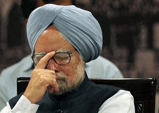 India has blocked Twitter accounts that ridiculed Prime Minister Manmohan Singh