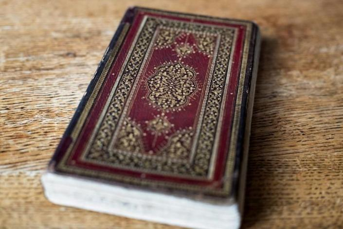 Experts said the book could be of great historical and literary value for scholars and admirers of Hafez (AFP Photo/Kenzo TRIBOUILLARD)