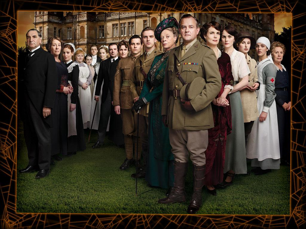 "<b>The cast of ""Downton Abbey""</b><br><b>Level of difficulty:</b> Difficult  <br><br>PBS's World War I-era drama is a runaway ratings hit, but its elaborate period costumes might be difficult to replicate so soon before Halloween. If you're a true-blue ""Downton"" fan, though, why not hit the local vintage store or costume shop, and see if you can become an honorary Crawley for a day? Guys will need fancy single-breasted suits with wide lapels (Lord Grantham) or military dress uniforms (Matthew); gals will need lacy Edwardian dresses (Lady Mary) or, if you're going all out, a heavy coat and a huge feather hat (the Dowager Countess). And the more bling, the better; you are the upper crust, after all."
