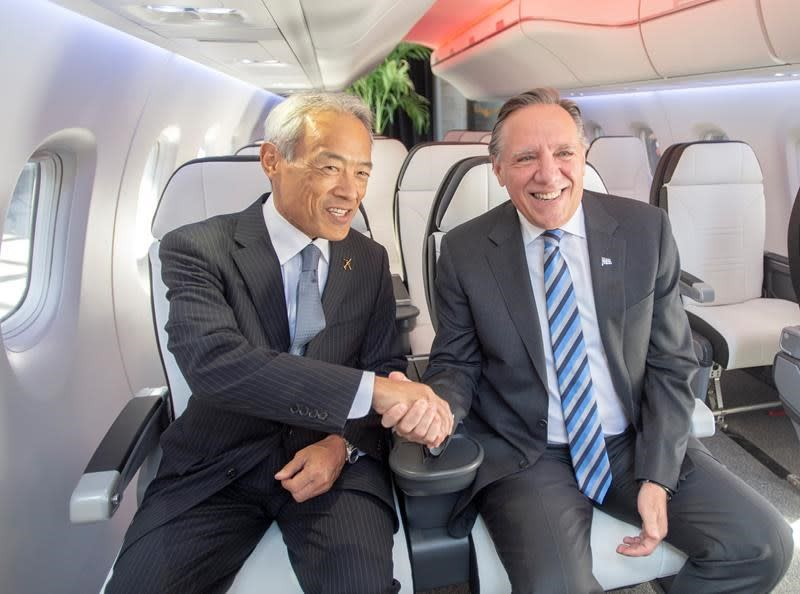 Mitsubishi announces aircraft design centre in Montreal for SpaceJet series