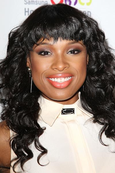 """FILE - This June 4, 2012 file photo released by Starpix shows singer and Academy Award-winning actress Jennifer Hudson at the Samsung Hope for Children 11th Annual Gala at the Museum of Natural History in New York. Hudson will appear on the second season of the NBC series """"Smash"""" in a multi-episode arc as a Broadway star named Veronica Moore. On """"Smash,"""" Hudson will join fellow """"American Idol"""" alum Katharine McPhee who is one of the show's main characters. (AP Photo/Starpix, Kristina Bumphrey, file)"""