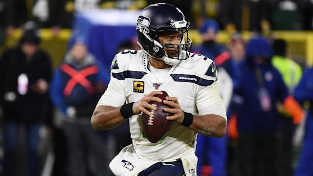 It won't be Russell Wilson's fault if the Seattle Seahawks fail to make the playoffs in 2020. (Stacy Revere/Getty Images)