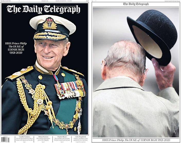 Apr 10, 2021 - Prince Philip dies aged 99