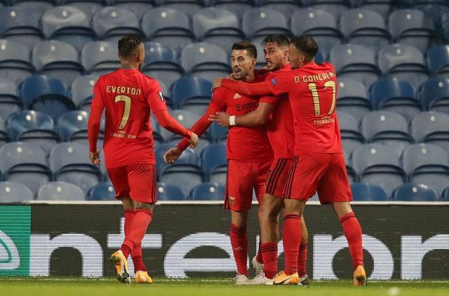 Pizzi salvaged a late point for Benfica