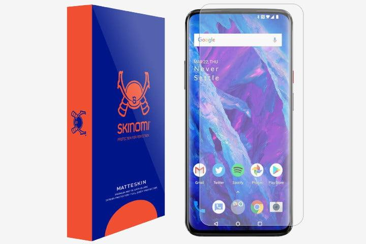 best oneplus 7 pro screen protectors skinomi