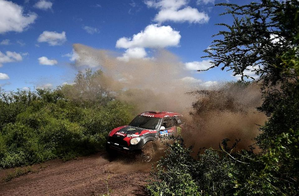 The 2017 Dakar Rally will have 12 stages covering between 8,000 to 9,000 kilometres of gruelling South American terrain (AFP Photo/Franck Fife)