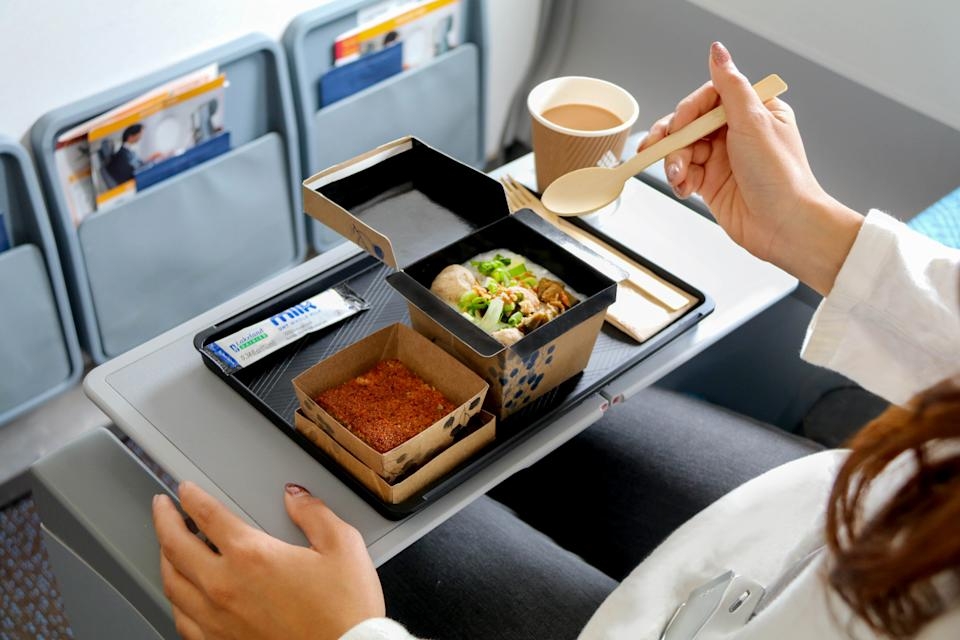 Eco-friendly packaging. (PHOTO: Singapore Airlines)