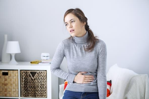 Abdominal Pain In A Woman