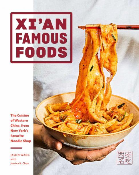 PHOTO: The new Xi'an Famous Foods cookbook cover. (Jenny Huang)