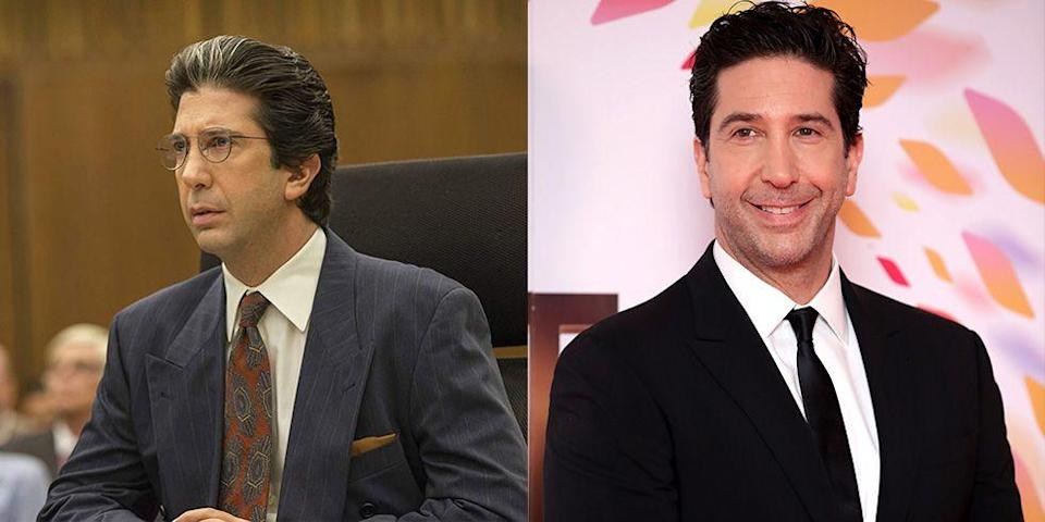 <p>David Schwimmer looked nearly identical to Robert Kardashian in <em>American Crime Story </em>season 1, which includes nailing the late defense attorney's hair almost to a T.</p>