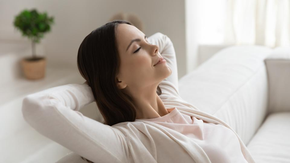 An air purifier can help relieve seasonal allergies (Image via Getty Images).