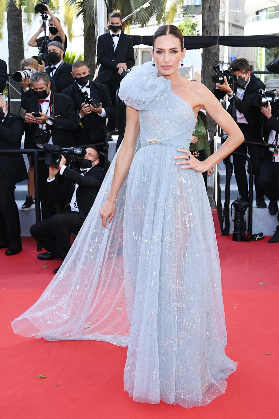 CANNES, FRANCE - JULY 13: Nieves Alvarez attends the
