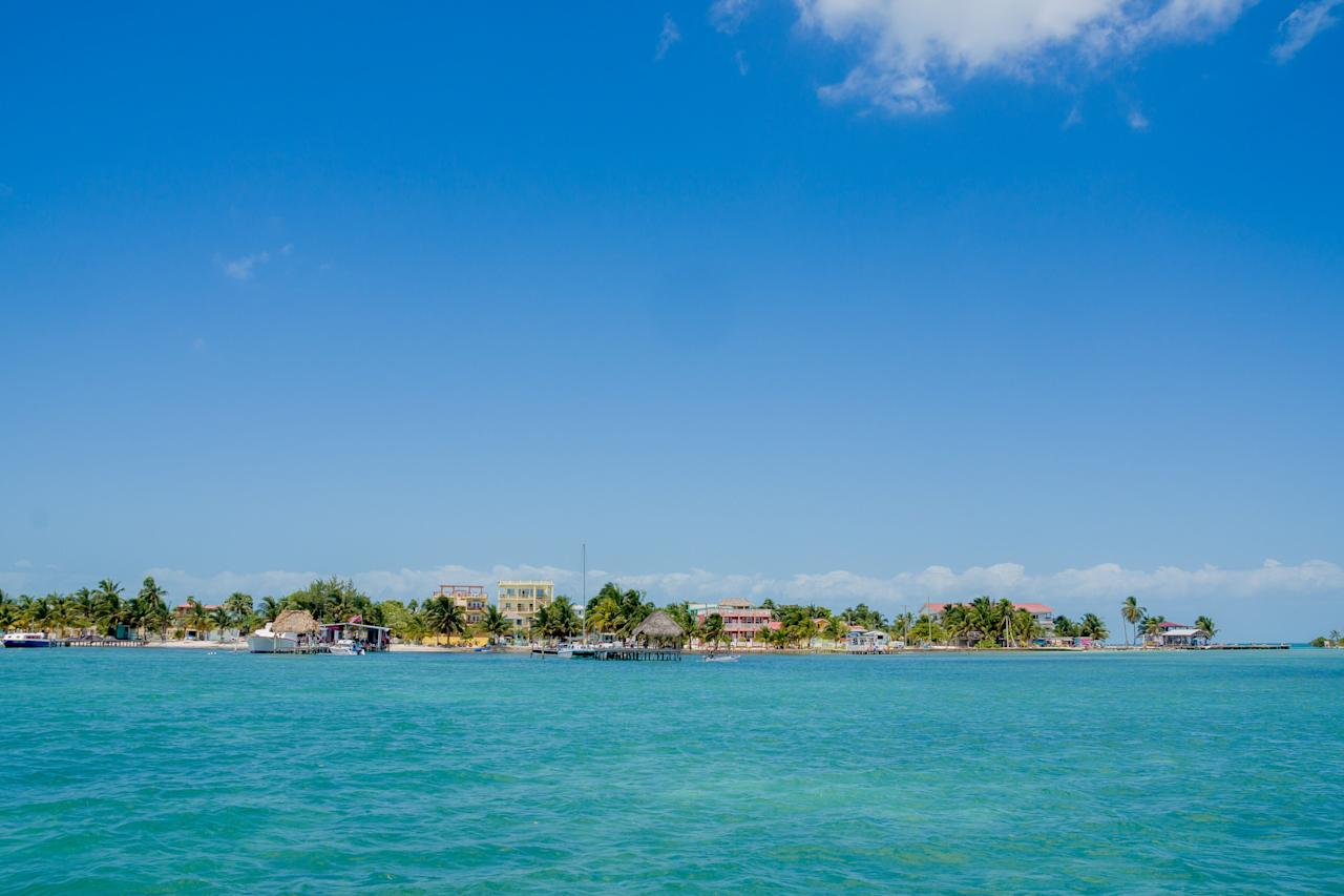 "<p>Price per square meter in Belize: $2,322</p> <p>This five-mile long coral island off the coast of Belize embodies its motto of ""go slow."" With few roads and no cars or trucks, most residents walk or bike. It boasts world-class snorkeling, fishing, swimming, and boating. According to <a href=""https://www.realtor.com/news/trends/caribbean-best-affordable-beach-towns-real-estate/"" target=""_blank"">realtor.com</a>, ""the home-buying process is simple and similar to that of the U.S., and luxury condos sell for around $200,000, while five-bedroom homes right on the beach go for around $400,000. If you're OK with a short walk to the beach, you can find something under $200,000.""</p>"