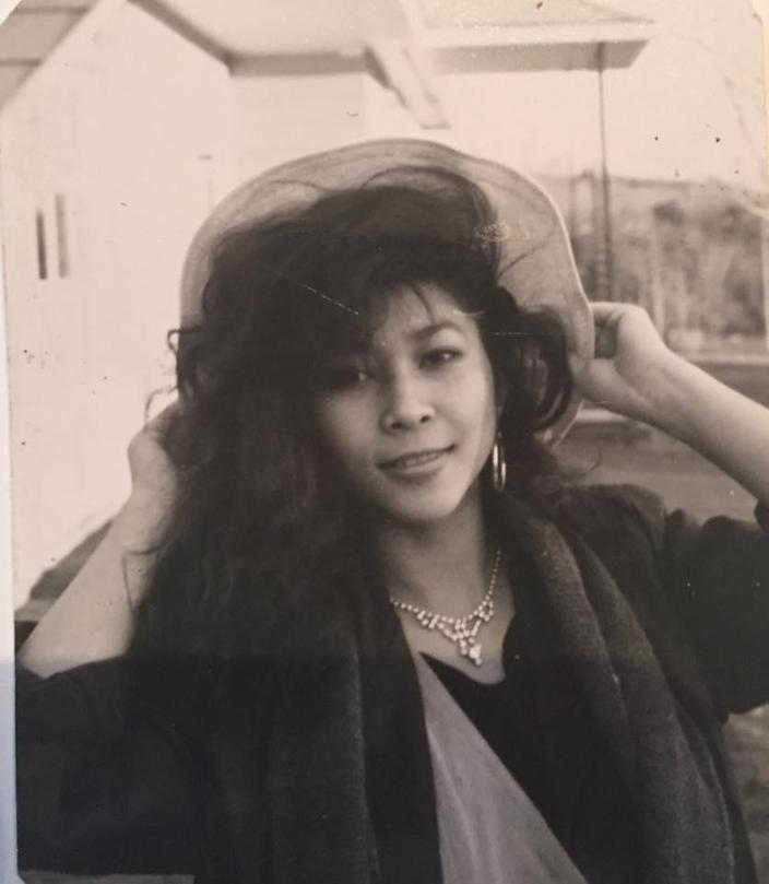 Loung Ung in high school