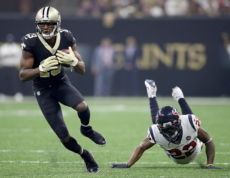 Aaron Colvin lost his job after a rough night against the Saints. (Getty)