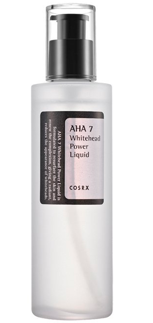 Her secret was an online product she found on her search to eradicate the bumps, called COSRX AHA 7 Whitehead Power Liquid. Photo: Amazon