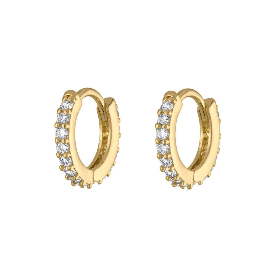 "<p><strong>Maison Miru</strong></p><p>maisonmiru.com</p><p><strong>$29.00</strong></p><p><a href=""https://www.maisonmiru.com/collections/gifts-under-50/products/mini-eternity-hoop-earrings"" target=""_blank"">SHOP NOW</a></p><p>A great pair of hoops are always in fashion, much like Mom herself. </p>"
