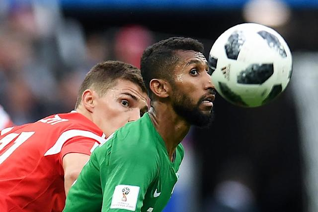 Saudi Arabia lost their World Cup opener 5-0 to Russia (AFP Photo/Patrik STOLLARZ)