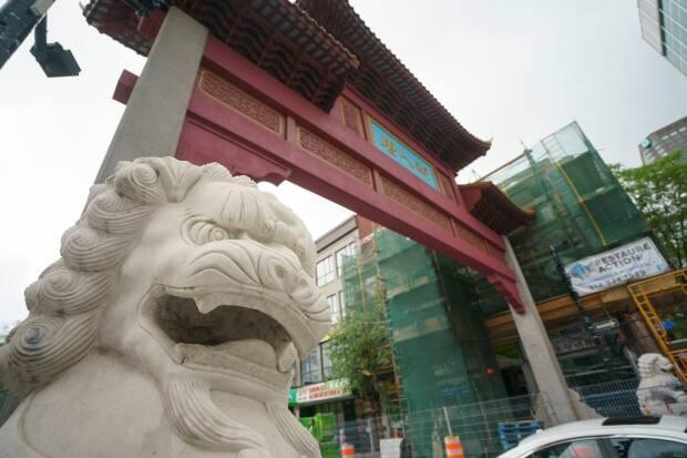 Groups in Montreal's Chinatown district have been lobbying for governments to block luxury developments. (Ivanoh Demers/Radio-Canada - image credit)