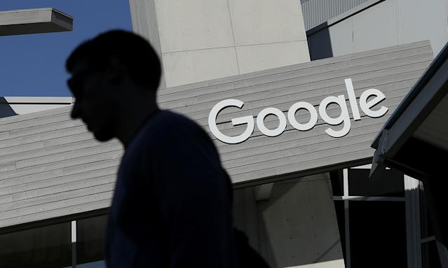 A fired Google engineer says that he will sue his former employer. Photo: AP