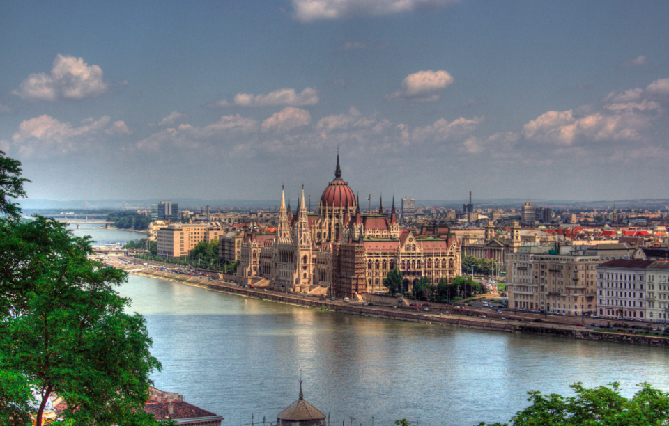 <p>Hungary is home to both stunning architecture and unhealthy residents. (Wikipedia) </p>