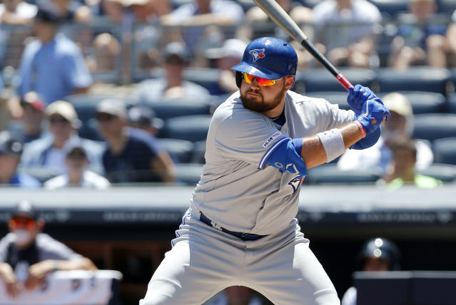 Rowdy Tellez needs to prove he's part of the Blue Jays future plans. (Jim McIsaac/Getty Images)