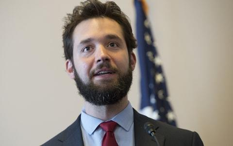 Alexis Ohanian, founder of Reddit, father of Alexis Jr - Credit: SAUL LOEB/AFP/Getty Images