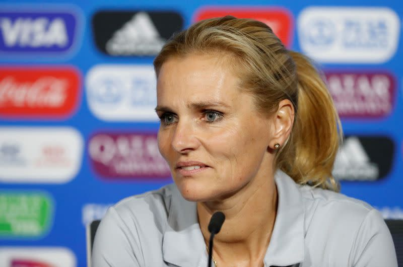 Incoming England Women's boss Wiegman says will not step on Neville's toes