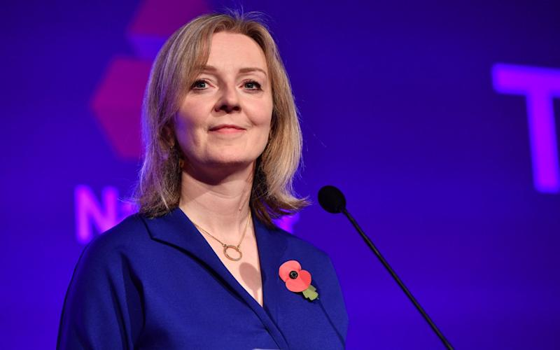 Liz Truss said she wants to see more women in the Tory ranks - PAUL GROVER FOR THO TELEGRAPH
