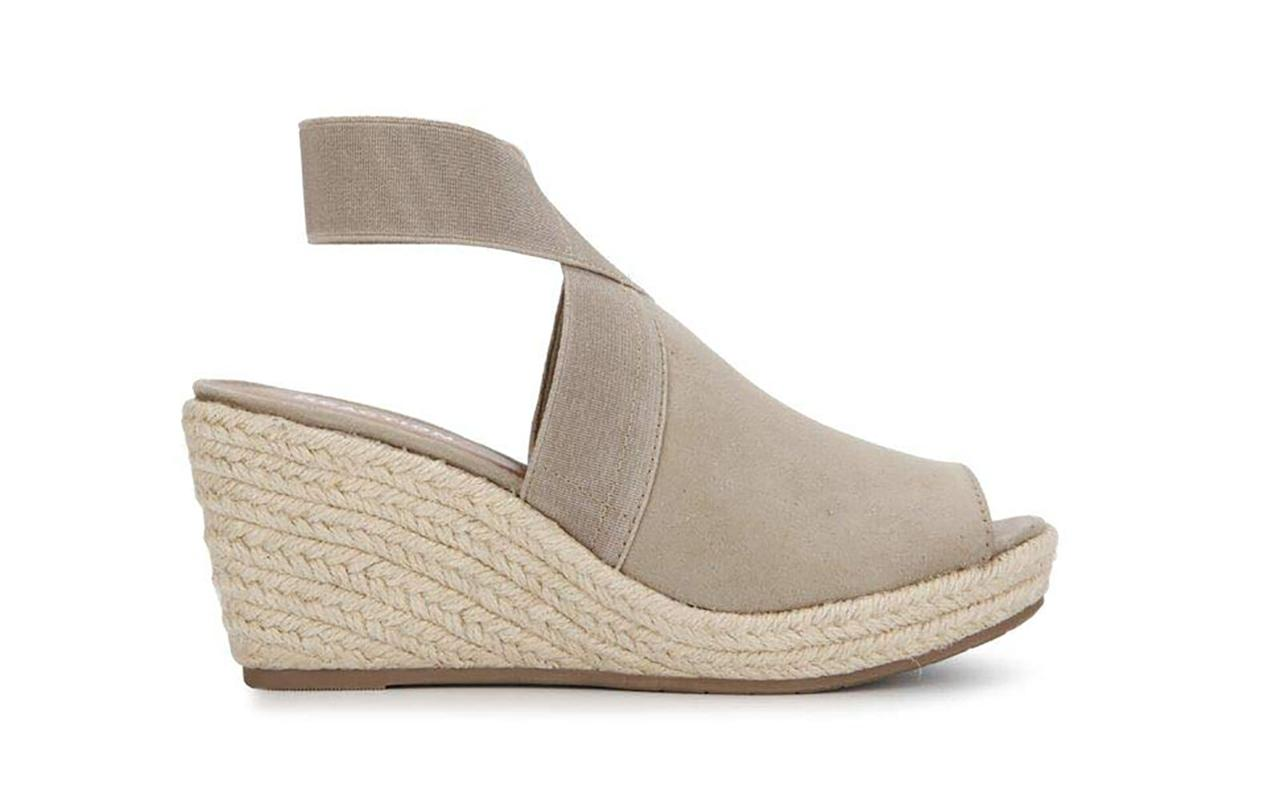 """<p>These stylish espadrilles from Kenneth Cole Reaction may look like your basic wedge sandal, but they actually include smart features that make them some of the most comfortable shoes around. Along with a soft, padded insole and breathable faux-leather inner lining, hey also boast a rubber outsole for added traction and stability. One rave review said, """"Love these shoes. Super cute, comfortable and stylish too. Don't pass them up. Look good with shorts, jeans and even the right dress.""""</p> <p>To buy: <a href=""""https://www.amazon.com/gp/product/B07MFRPK5M/ref=as_li_tl?ie=UTF8&camp=1789&creative=9325&creativeASIN=B07MFRPK5M&linkCode=as2&tag=tlcomfyheelsrcarhart319-20&linkId=06ce3d14957832235e0adfd3b6308d31"""" target=""""_blank"""">amazon.com</a>, $80 (originally $89)</p>"""