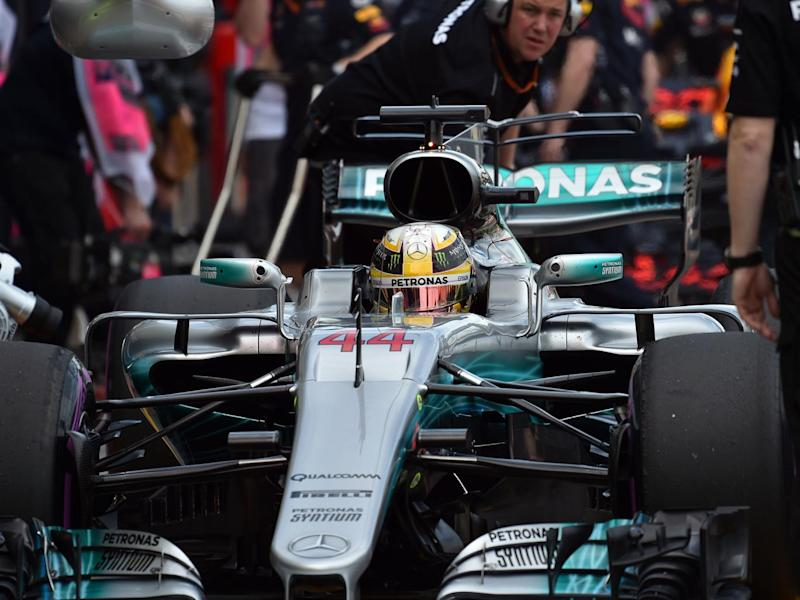 Hamilton was half-a-second faster than his nearest challenger in Vettel (Getty)