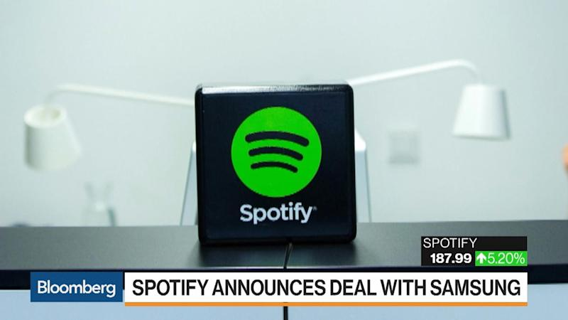 Spotify Teams With Samsung to Help Fight Off Apple