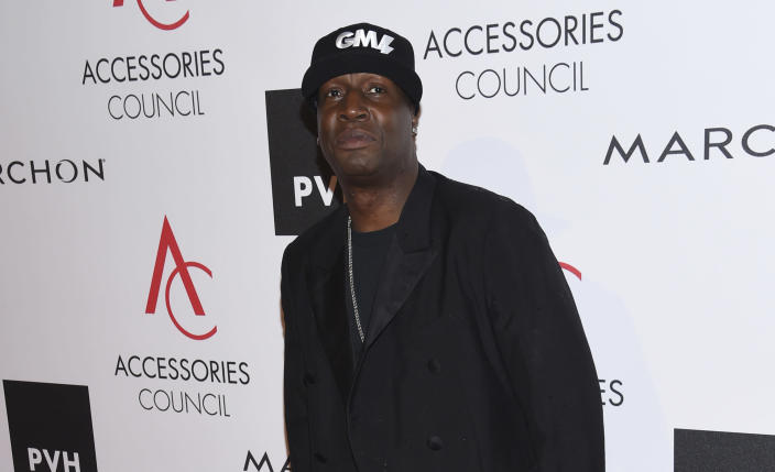 FILE - Grandmaster Flash attends the 21st Annual ACE Awards hosted by the Accessories Council on Aug. 7, 2017, in New York. The DJ turns 62 on Jan. 1. (Photo by Evan Agostini/Invision/AP, File)